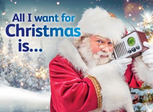 All I want for Christmas is….(Sky Radio)