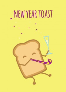 New Year Toast