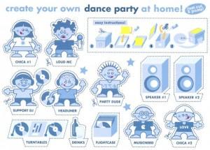 Create your own dance party