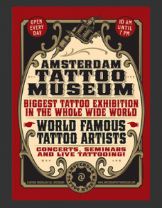Support het Amsterdam Tattoo Museum