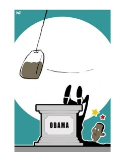 Obama meets The Teaparty…