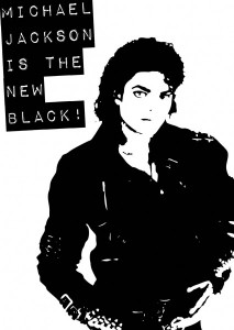 michael jackson is the new black!