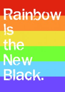 Rainbow is the new black (Netflix)