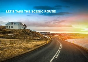 let's take the scenic route! (icelandair)
