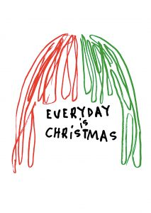 everyday is christmas (Sia, warner music)