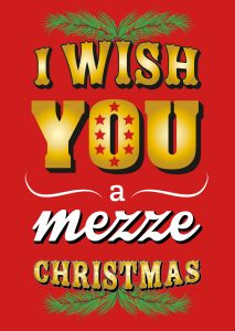 i wish you a mezze christmas (maza)