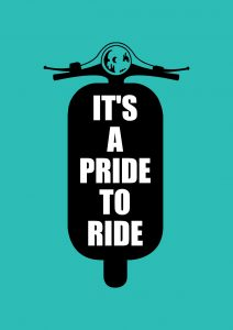it's a pride to ride (deliveroo)