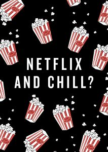 netflix and chill? (america today)
