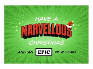 have a marvellous christmas and an epic new year (bos theaterproducties)